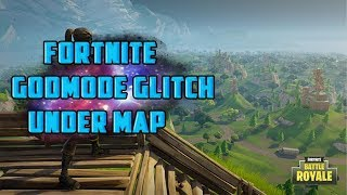 Fortnite Under Map/God Mode After Patch! | Fortnite Glitches And Tricks