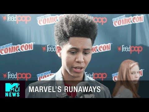 Download Youtube: 'Marvel's Runaways' Is For the Teens   New York City Comic Con   MTV News