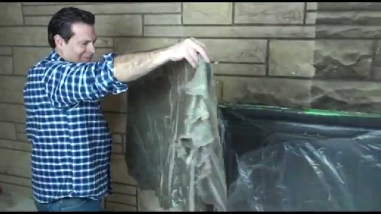 Chimneysaver Paint N Peel Fireplace Cleaner Youtube