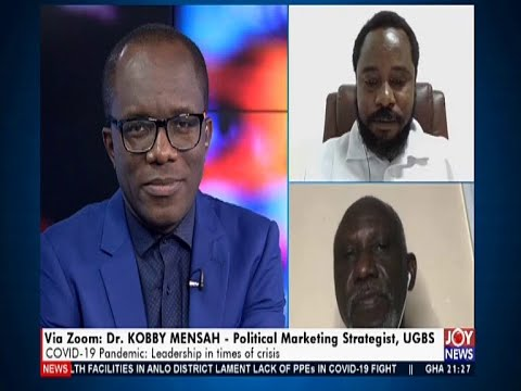 COVID-19 Pandemic: Leadership In Times Of Crisis - PM Express On Joy News (22-4-20)