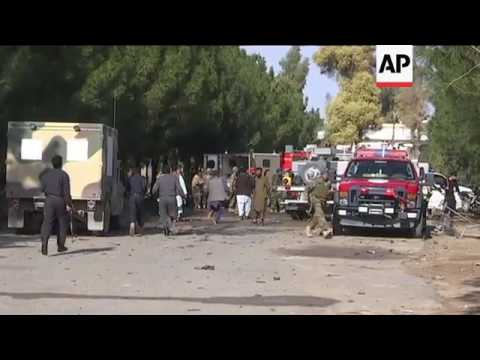 Raw: Deadly Suicide Bombing in Afghanistan
