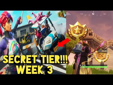 Secret Battle Star Week 3 Season 5 Fortnite