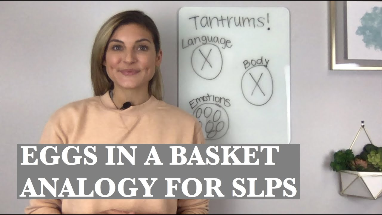 Eggs in a Basket Analogy for SLPs: Top Autism Tips