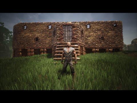 Conan Exiles Season 3 EP 4 The walls are up!!