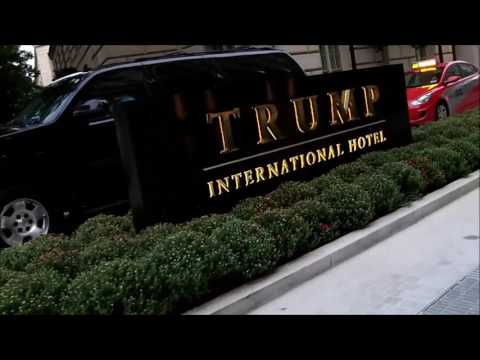DC Trump Hotel Visit by Argentilhia and Dennis on their Trikaroo