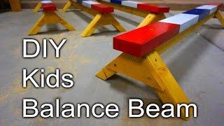 Kids Balance Beam - DIY Christmas Gifts for my Nieces