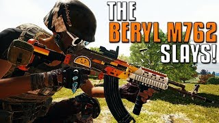 The Beryl M762 Is Very Powerful! | PUBG