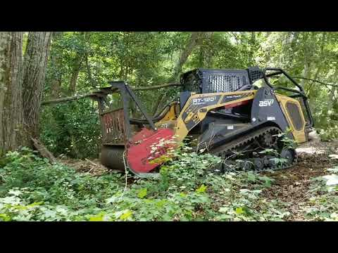 Forestry Mulching Three Jobs Into One