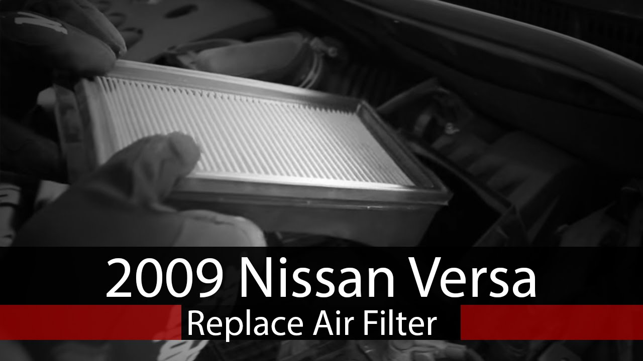 how to replace air filter on 2009 nissan versa 2007 Nissan Versa Fuel Pump Replacement