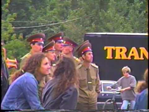 Roger Waters - Rehersal of Berlin Wall - 1990
