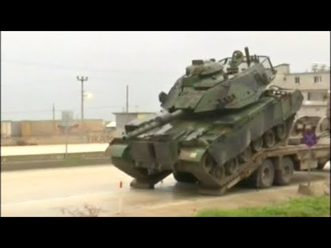Turkish Military Preparing For Ground Invasion Into Syria!