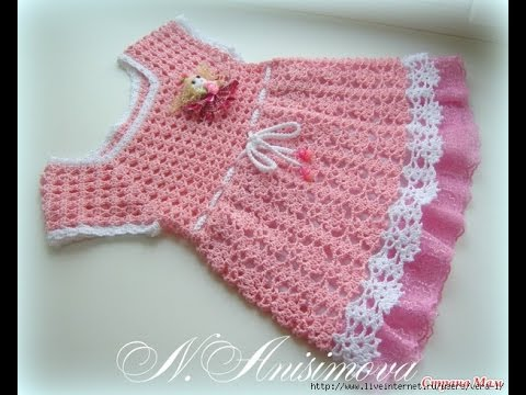 Crochet Baby Dress Free Vintage Crochet Baby Dress Pattern 166