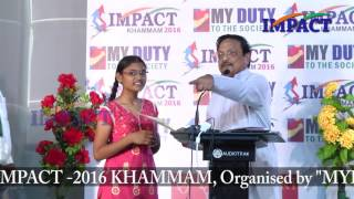 How to sell yourself by Dr Yandamoori Veerendranath at IMPACT Khammam 2016