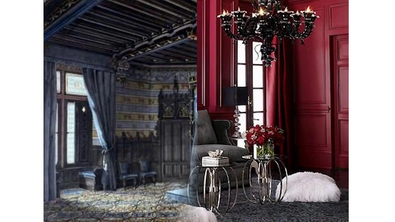 Ideas para decorar dormitorios g ticos youtube - Deciracion de interiores ...