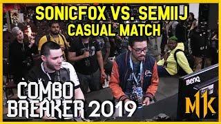 Mortal Kombat 11 - Combo Breaker 2019 Sonic Fox (Skarlet) vs. Semiij (Kitana) Casual [1080p/60fps]