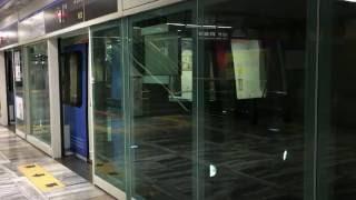 【韓国】 釜山都市鉄道(地下鉄)4号線 東莱駅  부산 도시철도 4호선  동래역 Busan Metro Line 4  Dongnae  Station (2016.6)