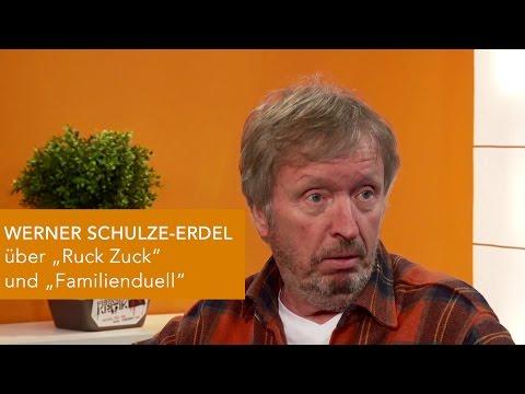 Werner SchulzeErdel über RUCK ZUCK und FAMILIENDUELL