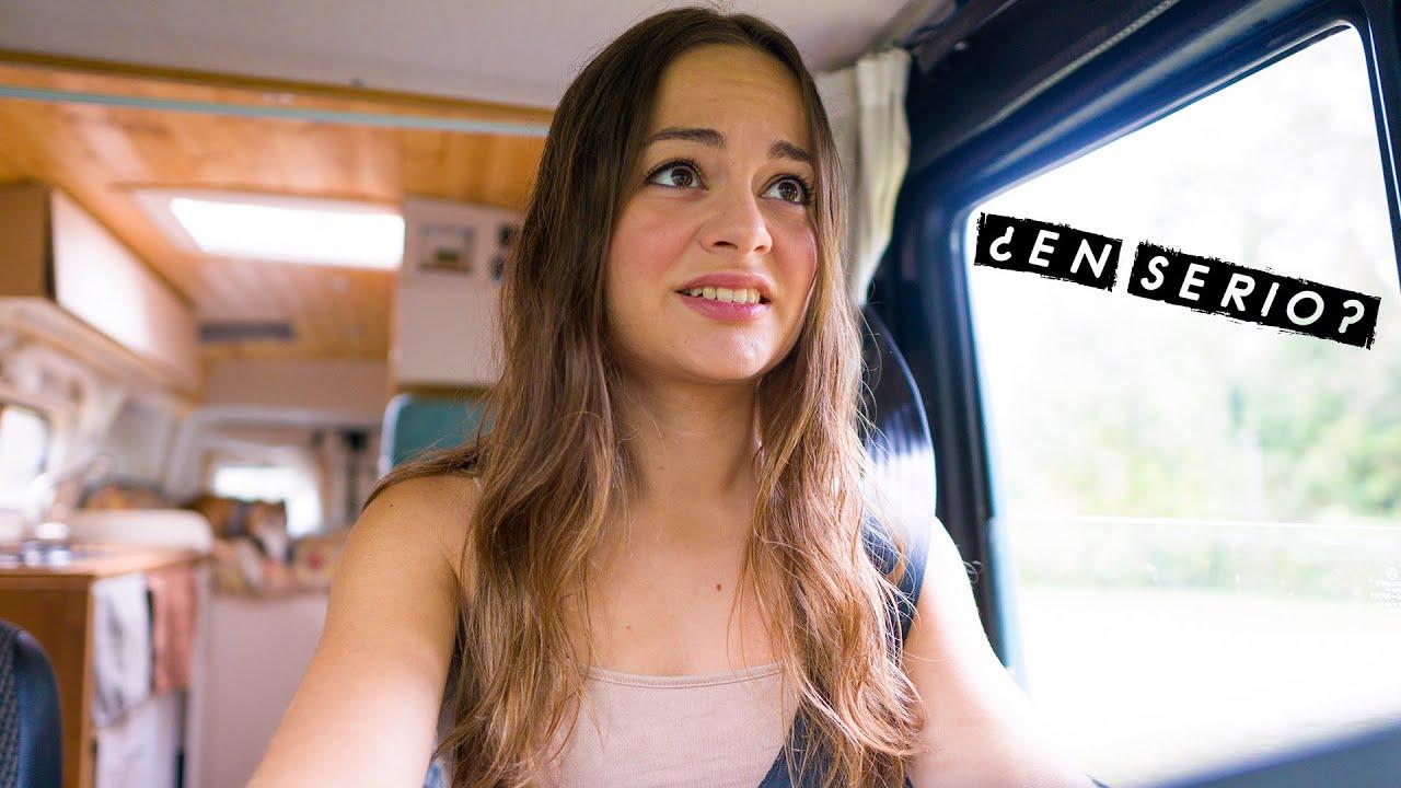 Cuando te echan de todas partes... 😭 Vivir y viajar en furgoneta camper 🚐 Cap. 8