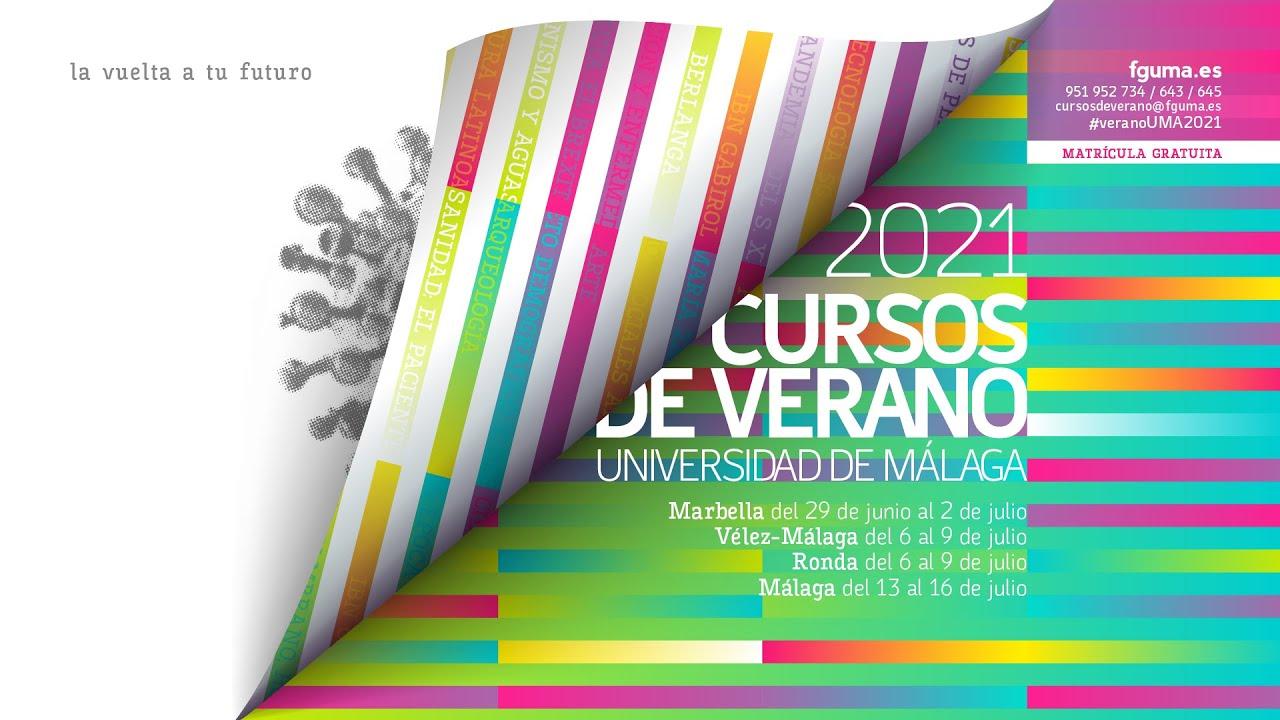 Cursos de Verano de la Universidad de Málaga 2021   FGUMA