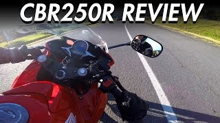 Honda CBR250R Review | Best Beginner Motorcycle - LIFE OF BRI
