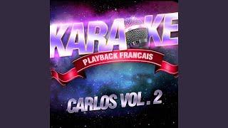 Rosalie — Karaoké Avec Chant Témoin — Rendu Célèbre Par Carlos