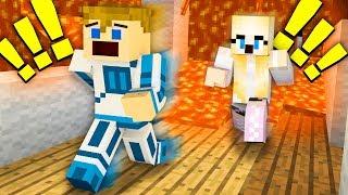 UCIECZKA Z PALĄCEGO SIĘ DOMU❗☠   Minecraft