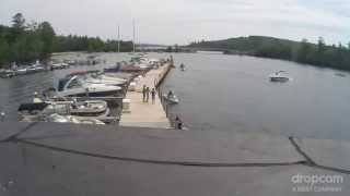 Boat Crash into Dock