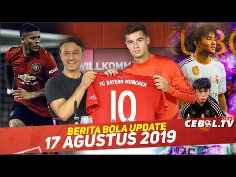 AS Roma Bidik Marcos Rojo 🔴  Coutinho Resmi Ke Bayern Munchen 🔴 Takefusa Kubo Menolak Dipinjamkan