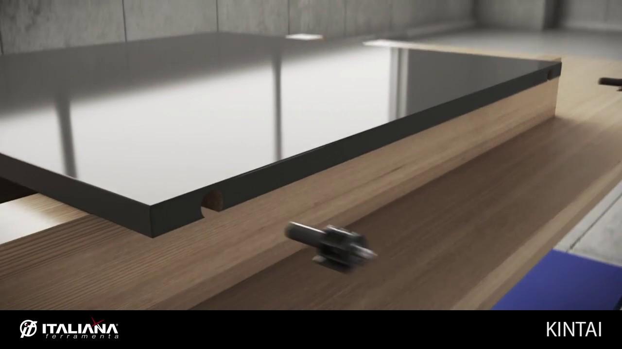 Kintai Wood Shelf Support Italiana Ferramenta