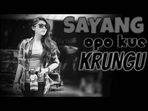 DJ Via Vallen   Sayang Opo Kue Krungu   JERITAN BASSNYA GILA BENER DJ ENAK