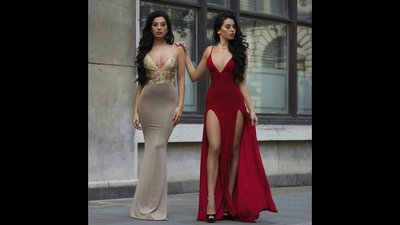 2d4f298e6 جديد2019 أجمل فساتين سهره وسوارية بطير العقل Beautiful Evening Dresses