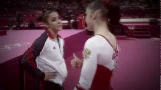 Aly Raisman and Aliya Mustafina - RAISTAFINA