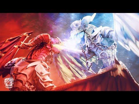 LAVAWING Vs. FROSTWING: DRAGON WARS! (A Fortnite Short Film)