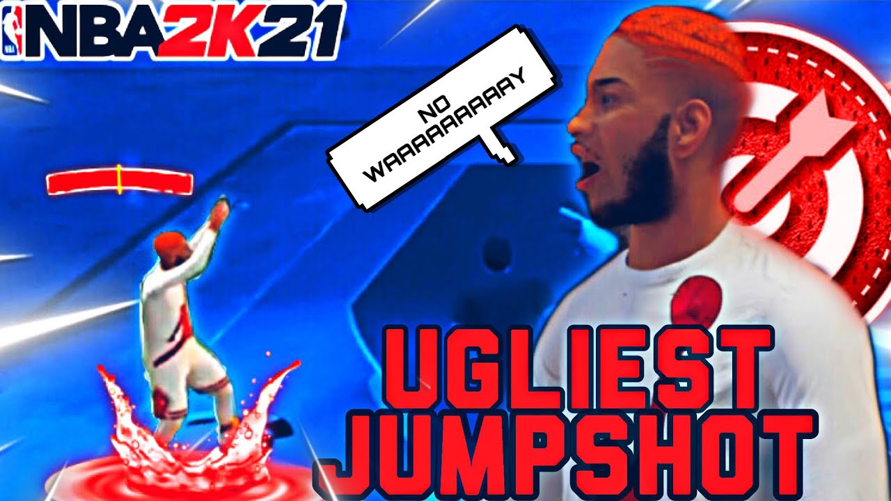 I USED THE UGLIEST JUMPSHOT IN NBA2K21 and I was SHOCKED!