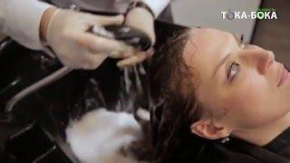 видео профессиональное окрашивание волос