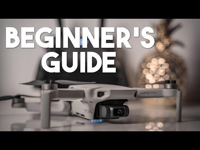 DJI Mavic Mini Beginner's Guide - Full Walkthrough & Settings!