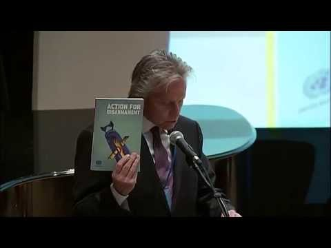 Michael Douglas (Actor, UN Messenger of Peace) on Disarmament