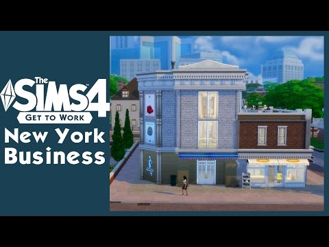 The Sims 4 Get To Work - New York Business | SimValera