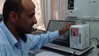 فيديو توضيحي لكيفية فحص انذار الانسداد في جهاز مضخة السوائلOcclusion Alarm Test