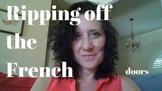 How to remove the Plastic Grid or Mullion from French Doors