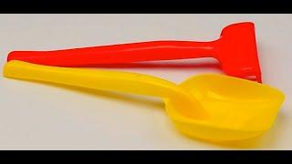 Обзор - распаковка игрушек песочный набор лопата и грабли MAX GROUP Арт: МГ 116