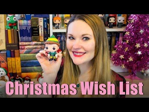 Bookish Christmas Wish List