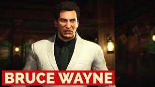 Injustice 2 - Bruce Wayne Batman Premier Skin Gameplay [PS4 Pro]
