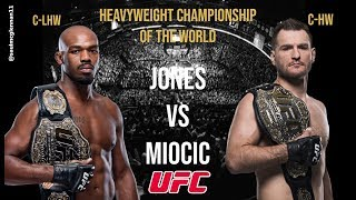 Jon Jones vs Stipe Miocic:  UFC Heavyweight Championship of the World * Fight Promo *