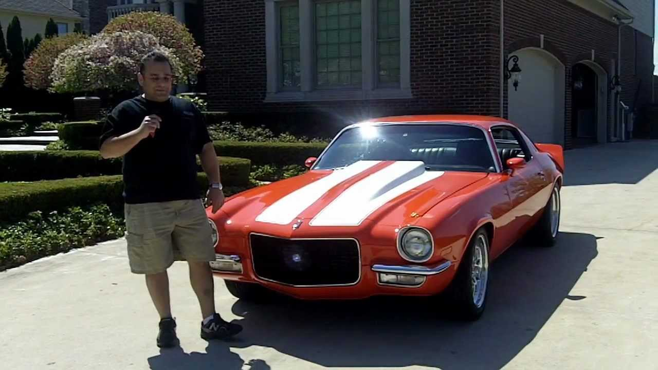 1973 Chevy Camaro Pro Touring Classic Muscle Car for Sale ...