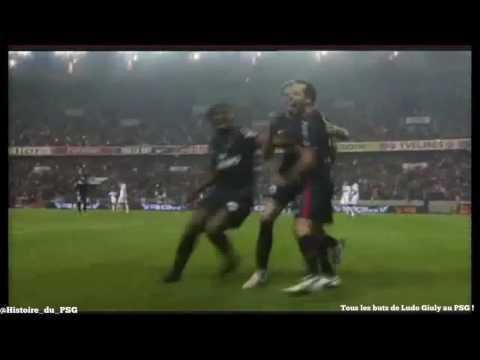 TOUS les buts de Ludovic Giuly au PSG (2008/11)