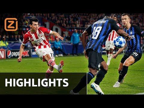 Samenvatting | PSV - Internazionale | 03/10/2018