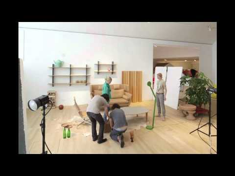 Suita Sofa photo shooting behind the scenes at VitraHaus