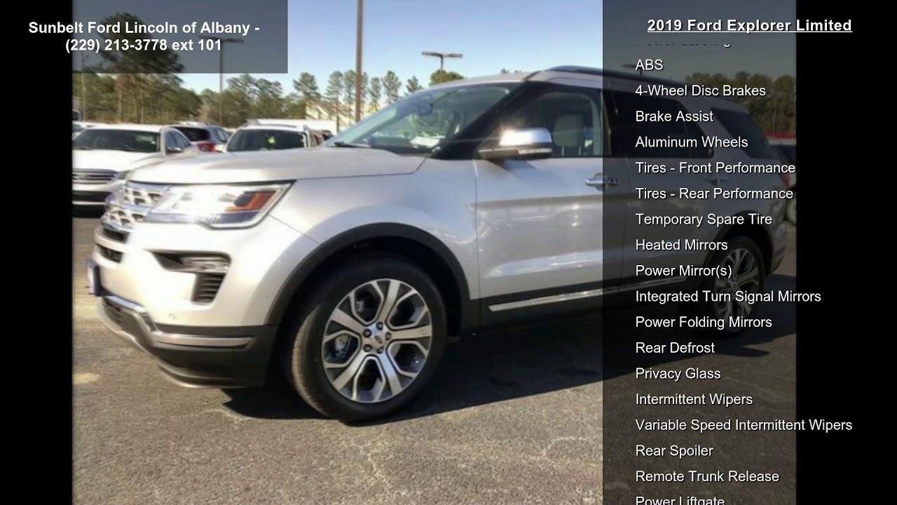 Sunbelt Ford Albany Ga >> 2019 Ford Explorer Limited - YouTube