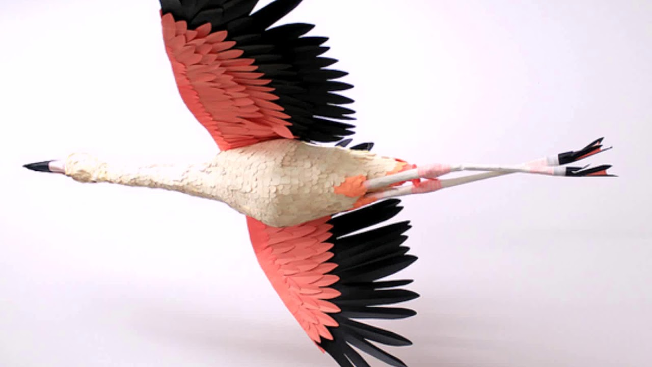 Объёмные птицы своими руками фото 257